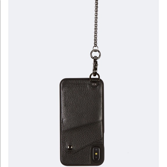 Bandolier iPhone XS Max Ryder wallet w/chain